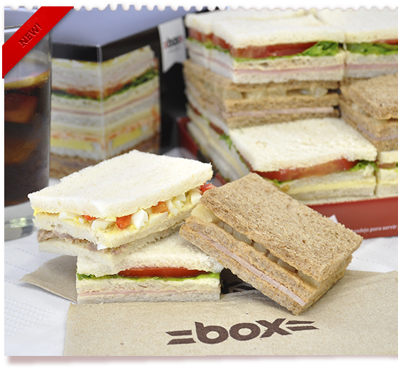 Sandwiches Pack 48
